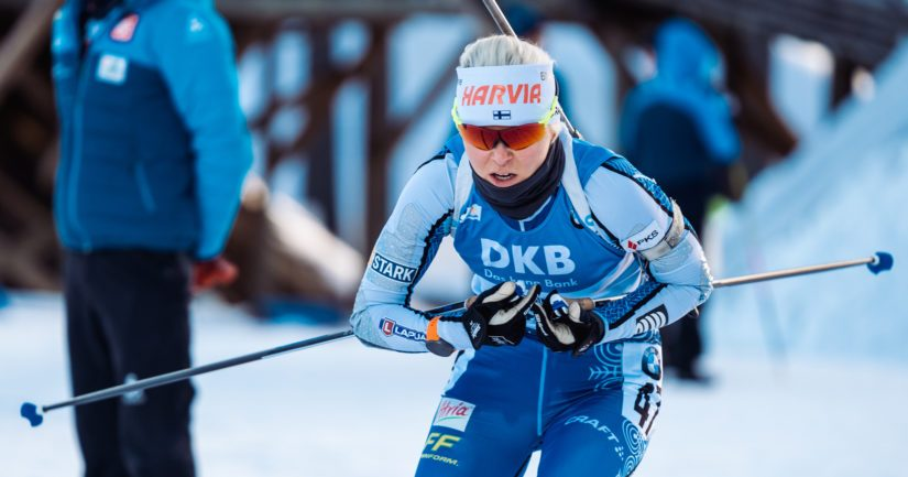 Mari Eder, entinen Laukkanen, on lukeutunut suomalaisen ampumahiihdon kärkinimiin yli vuosikymmenen ajan