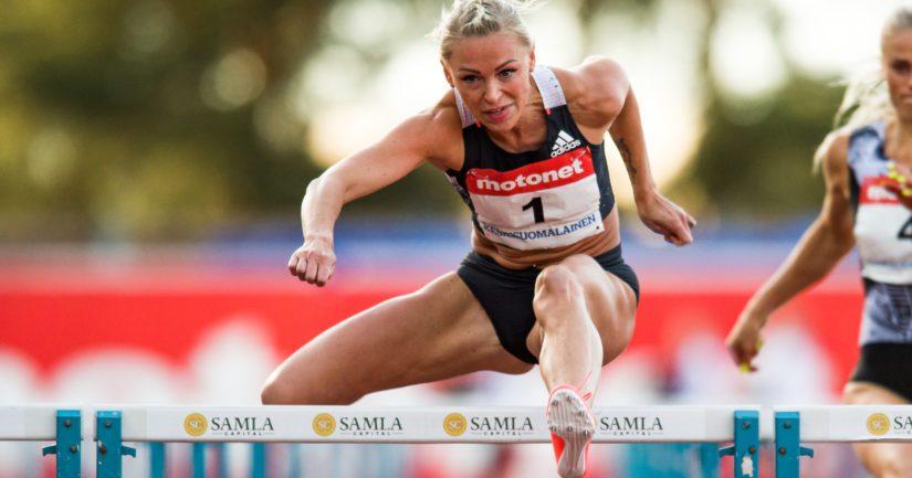 Annimari Korte lähellä Suomen ennätystä – miesten 100 metrillä kova aika