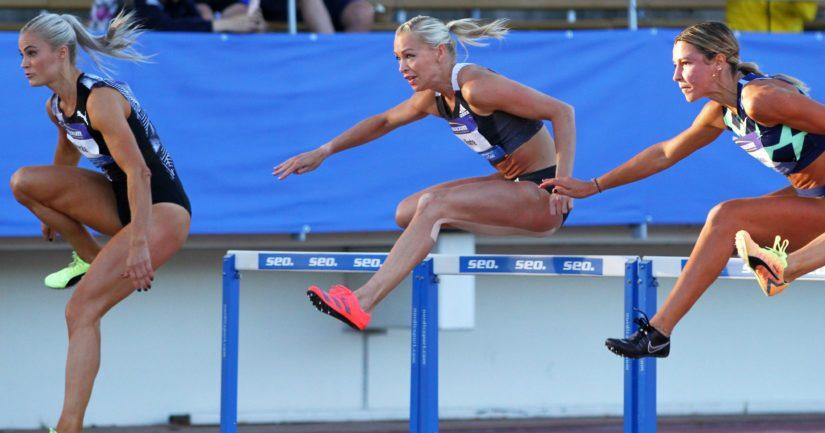 Naisten pika-aidat on noussut Suomen yleisurheilun ykköslajiksi