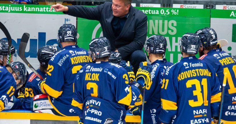 Pekka Virran valmentama Rauman Lukko lukeutuu SM-liigan suosikkeihin
