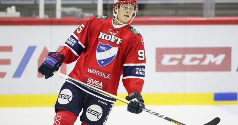 Henrik Borgström ehti pelata Florida Panthersin NHL-joukkueessa ennen debyyttiään SM-liigassa