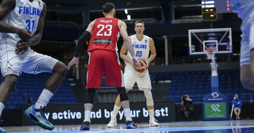 Suomen Susijengi taistelee paikasta koripallon 2022 EM-turnaukseen