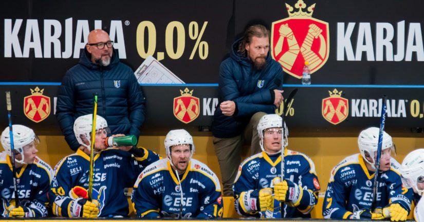 Mikkelin Jukurit pelaa Olli Jokisen komennossa (Kuva AOP)