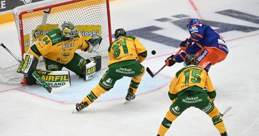 Ilves ja Tappara Tampereen paikallistaistossa (Kuva AOP)
