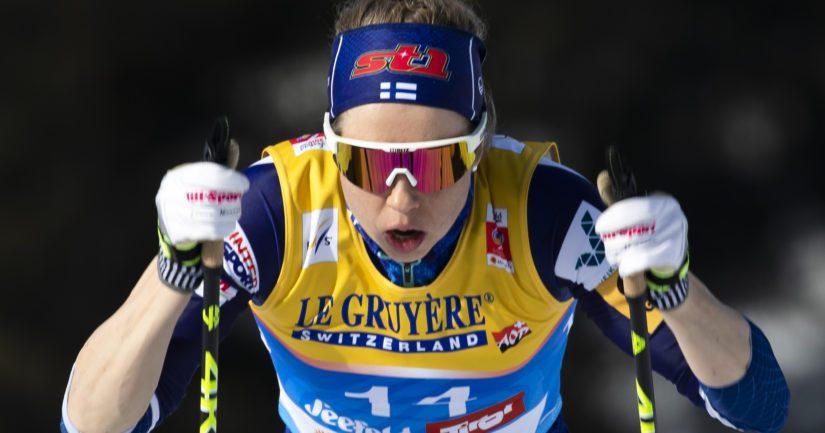 Laura Mononen edusti Suomea hiihdon maailmancupissa 12 vuoden ajan