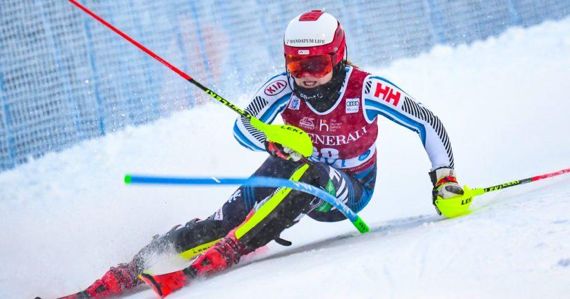Rosa Pohjolainen on Suomen alppihiihdon merkittävä lupaus