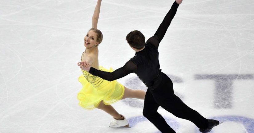 Juulia Turkkila ja Matthias Versluis saavuttivat paikan Pekingin 2022 olympialaisten jäätanssiin (Kuva AOP)