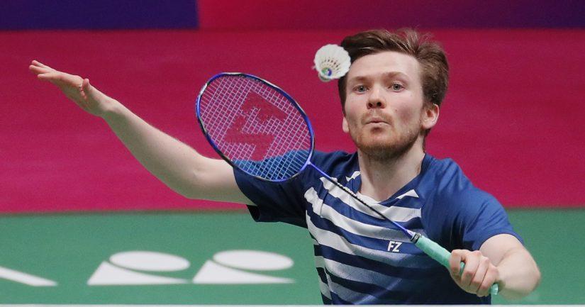 Kalle Koljonen voitti sulkapallon EM-kisoissa 2021 pronssimitalin (Kuva AOP)