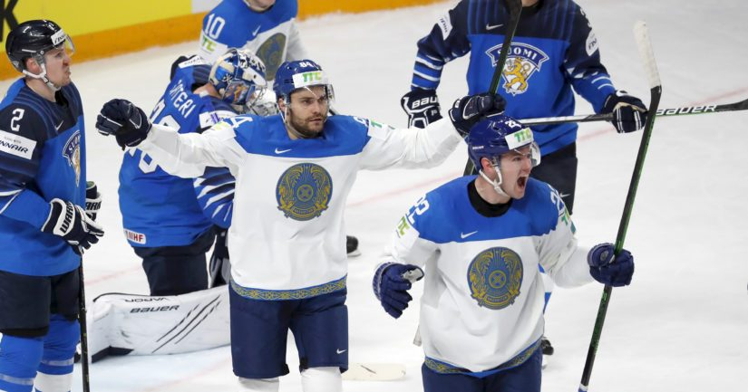 Kazakstan juhlii maalia Suomea vastaan