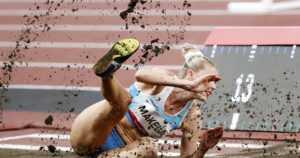 """Kristiina Mäkelä epäonnistui olympiafinaalissa – """"Tää itku on suurinta osaa siitä väsymyksestä"""""""