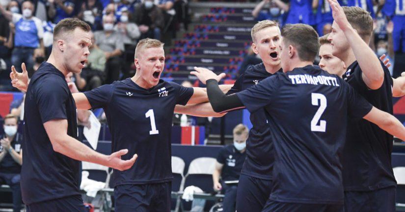 Suomi isännöi lentopallon EM-kisojen alkulohkoa Tampereella (Kuva: AOP)