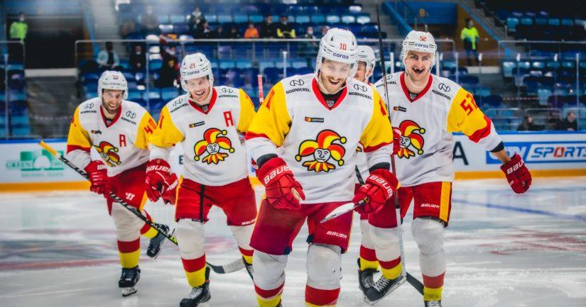 Jokerit on pelannut venäläisrahoitteisessa KHL-liigassa vuodesta 2014 lähtien (Kuva: Mikko Taipale / Jokerit)