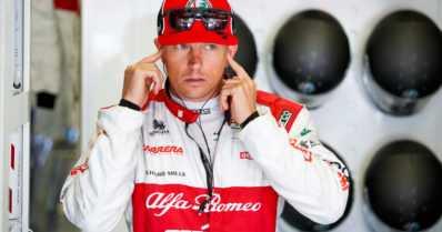 Kimi Räikkönen vietti Formula ykkösten 20-vuotispäiväänsä päihittämällä Ferrarin