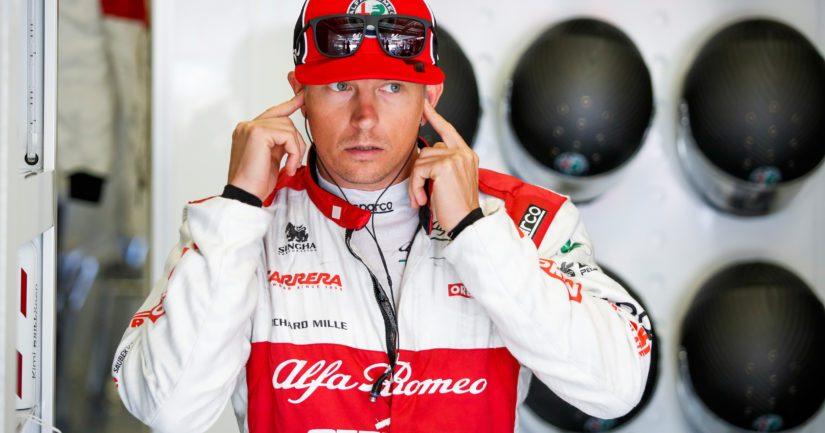 Kimi Räikkönen kilpailee 2020 Alfa Romeo-tallissa