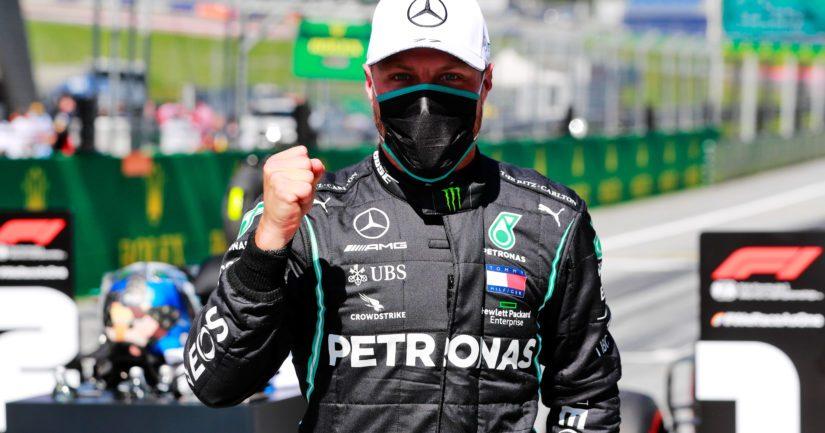 Valtteri Bottas on voittanut Mercedeksellä F1-kisoja kolmella kaudella