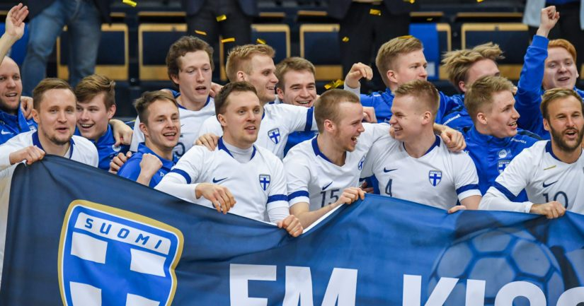 Suomen miesten futsalmaajoukkue selvitti tiensä 2022EM-lopputurnaukseen