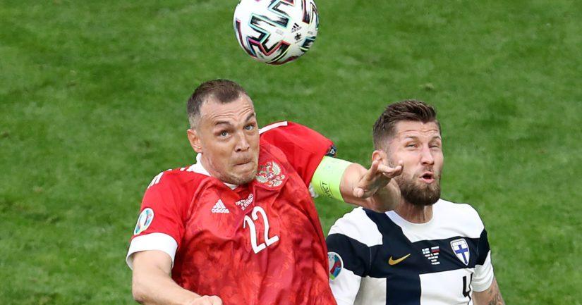 Venäjä voitti Suomen jalkapallon EM-kisaottelussa 1-0 (Kuva AOP)