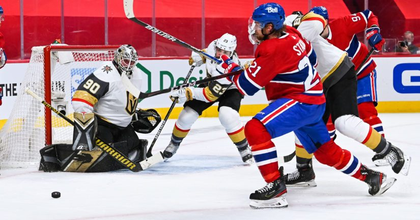 Montreal Canadiens pudotti Stanlcy Cupin välierissä Vegas Golden Knightsin (Kuva: AOP)