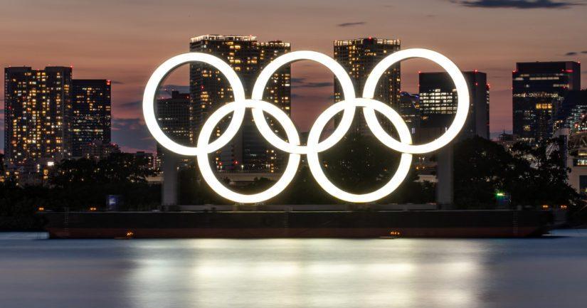 Olympiarenkaat Tokion edustalla (Kuva AOP)
