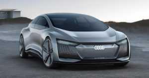 Audi aikoo lanseerata autonomisten autojen testilaivueen – itsenäistä ajamista testataan Aicon-sähköautoilla