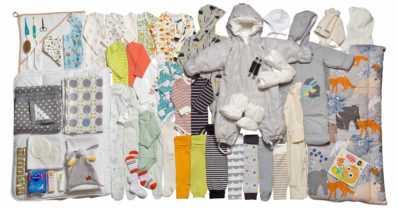 Äitiyspakkauksessa on mukana 63 hyödyllistä tuotetta – katso koko uusi tuotevalikoima