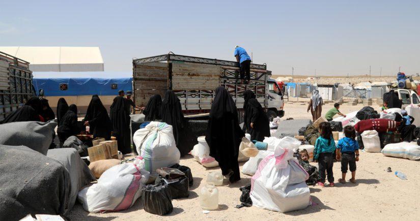 Al-Holin leirillä on ollut kymmenkunta Suomesta lähtenyttä Isis-taistelijoiden puolisoa, ja heillä noin kolmekymmentä lasta.