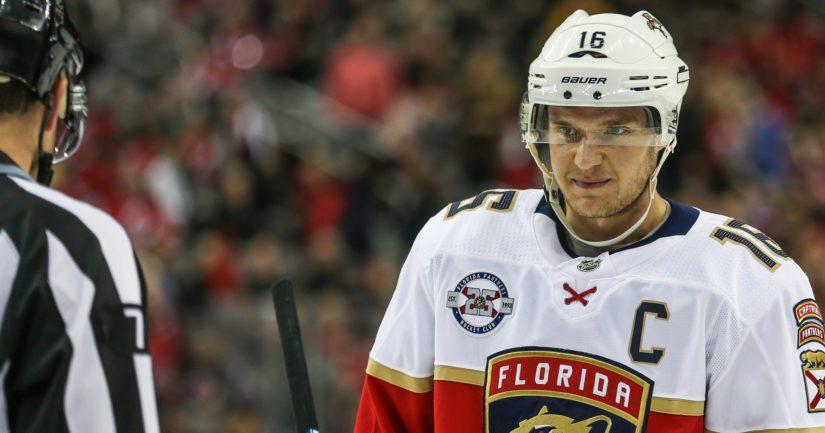 Florida Panthersin suomalainen kapteeni Aleksander Barkov kertoi pelaamisen Suomessa olleen ikimuistoinen kokemus.