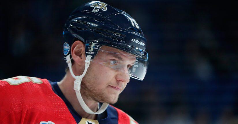 Aleksander Barkov on nakuttanut NHL:ssä kovia tehoja, mutta hänen joukkueensa Florida Panthers ei ole menestynyt.