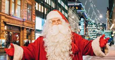Joulupukki saapuu tänä vuonna kumisaappaat jalassa