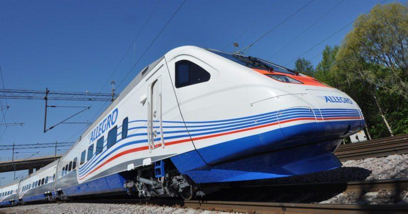 Venäläinen mieshenkilö oli poistumassa Allegro-junalla Suomen kautta Venäjälle yhdessä tuttavansa kanssa.