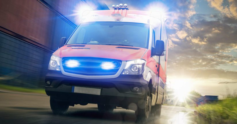 Nainen pakeni ex-miestään ambulanssiin – poliisi otti paenneen miehen kiinni