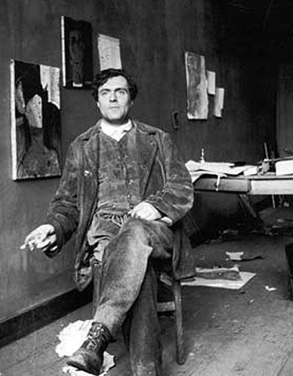 Modigianin maalaukset tuovat esiin MOntparnassen 1900-luvun alun boheemielämän monimuotoisuuden.