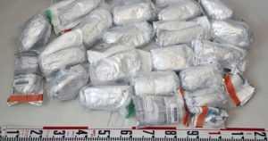 Poliisi takavarikoi noin 30 kiloa amfetamiinia – arvo katukaupassa 1,6 miljoonaa euroa