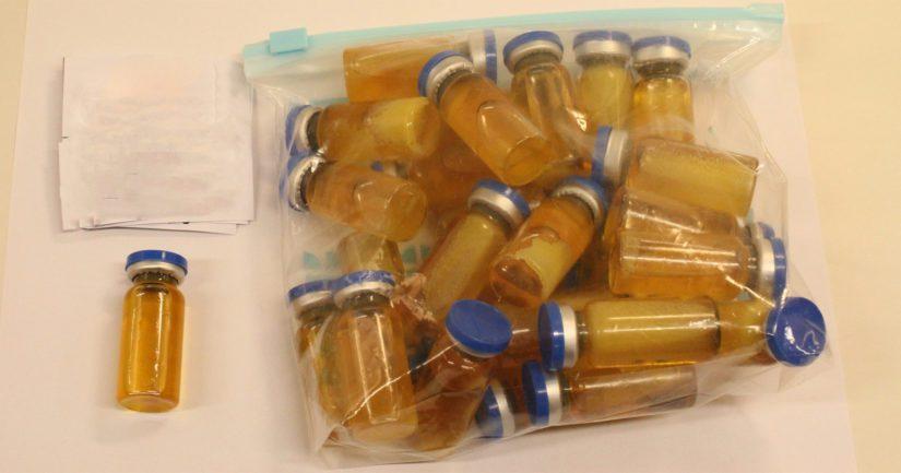 Tullin esitutkinnassa selvisi pääepäillyn vastaanottaneen ainakin 3 000 lasiampullia ja 30 litraa polyetyleeniglygolia.