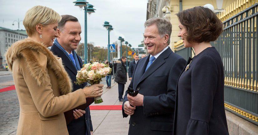 Puolan presidentti puolusti maansa linjaa – kutsui Niinistön vieraaksi ensi vuonna