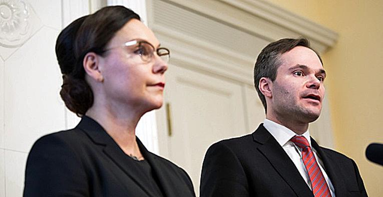 Anne-Mari Virolainen on uusi ulkomaankauppa- ja kehitysministeri, Kai Mykkänen siirtyi sisäministeriksi.