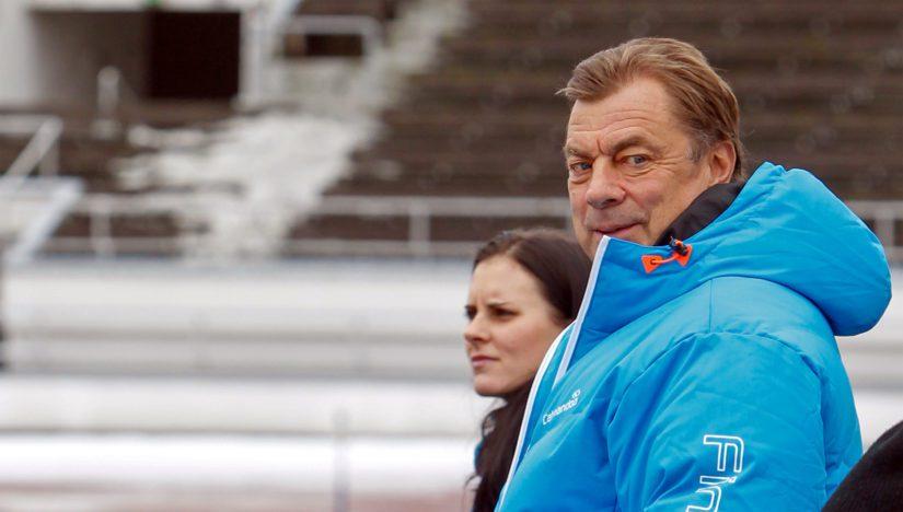 Urheilumies Anssi Rauramo toimi kansanedustajuuden jälkeen 18 vuotta Helsingin kaupungin liikuntatoimen johtajana.