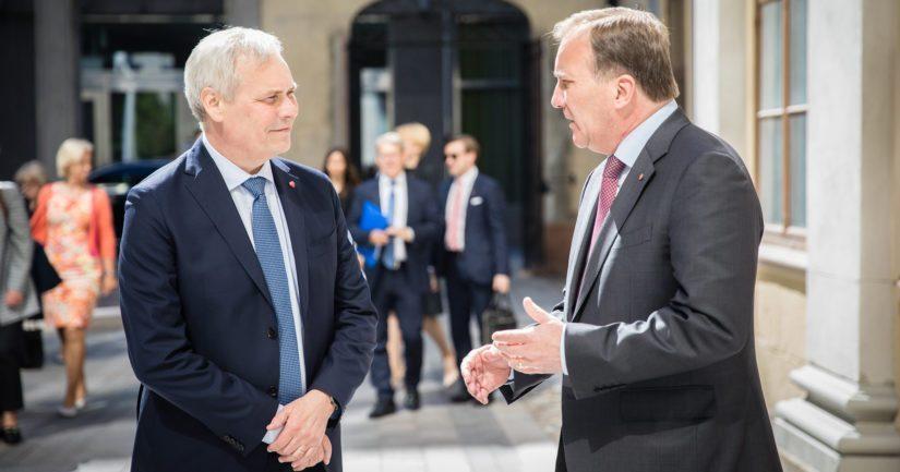 Pääministerit Antti Rinne ja Stefan Löfven tuntevat toisensa 2000-luvulta saakka.