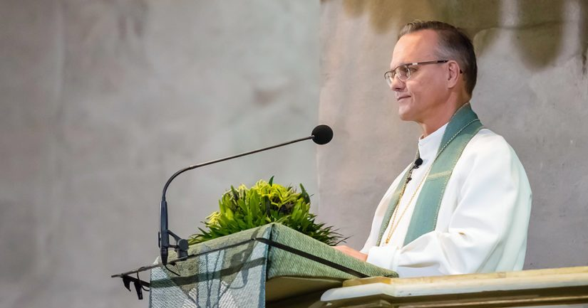Arkkipiispa Tapio Luoma muistutti, että viisautta tarvitaan erityisesti silloin, kun ilmapiiri kiristyy.