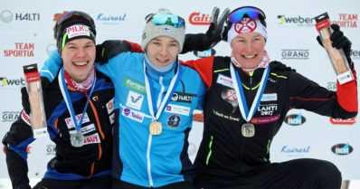 Yhdistetyn kilpailijat kovassa kunnossa Ounasvaaralla – samoin Iivo ja Kerttu Niskanen