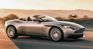 Shokkiuutinen – Aston Martinin uutta avoautoa saa vain Mersun moottorilla