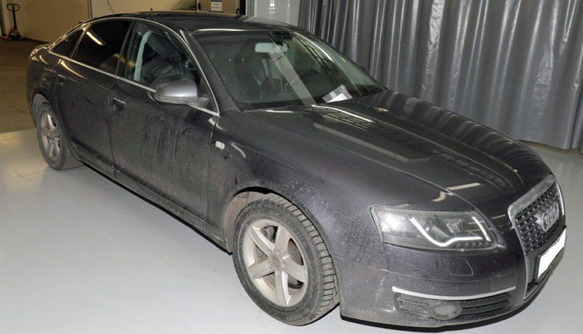 Saara Arvan tiedetään liikkuneen vastaavanlaisella mustalla Audi -merkkisellä henkilöautolla.