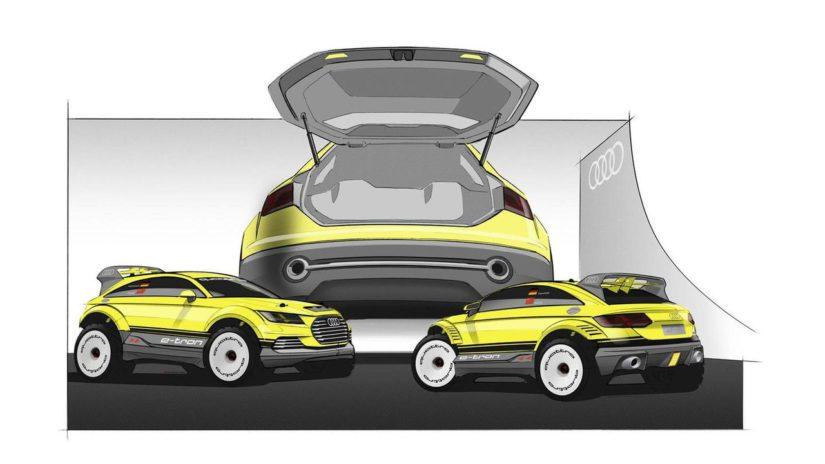 TT Offroad Concept paljastettiin jo reilut kaksi vuotta sitten. (Kuva Audi)