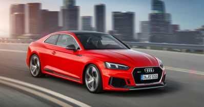 Uusi sporttinen Audi RS 5 esiteltiin Genevessä