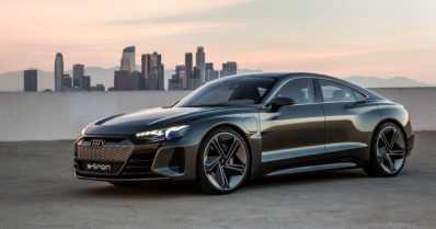 Audin sähkösportti esiteltiin Los Angelesissa – e-tron GT tulee tuotantoon kahden vuoden päästä