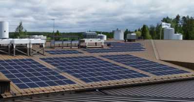 Aurinkovoimalat yritysten katolla yleistyvät vauhdilla – todellinen buumi energiaratkaisuna