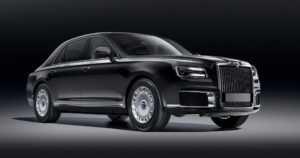 Vladimir Putinille räätälöity edustuslimusiini tulee tässä – Aurus Senat haastaa Rolls-Roycen ja Bentleyn