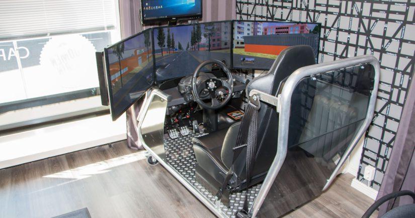 Simulaattorin uskotaan helpottavan ajokortin suorittamista.
