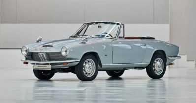 Ainoa maailmassa – BMW entisöi ainutlaatuisen avoauton, vuoden 1967 1600 GT:n