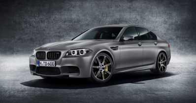 Uudesta BMW M5:stä saa takavetoisen napin painalluksella